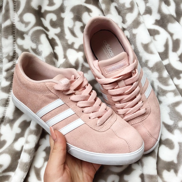Adidas zapatilla poshmark  mujer Pink